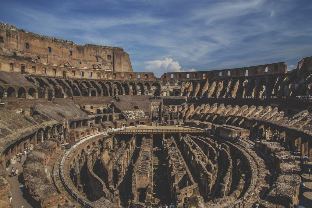Walking Map Of Rome Tourist Attractions | Rome Highlights | Rome Tour Map: Inside The Colosseum
