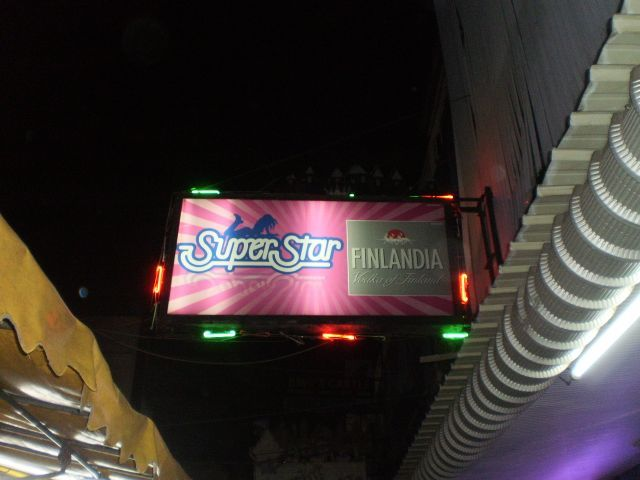 """SuperStar"" Our chosen Bangkok ping-pong venue"