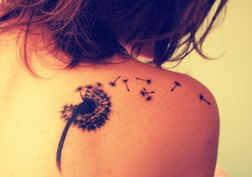 Travel Tattoo Ideas - dandilion