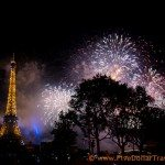 Bastille day Fireworks Paris 2014