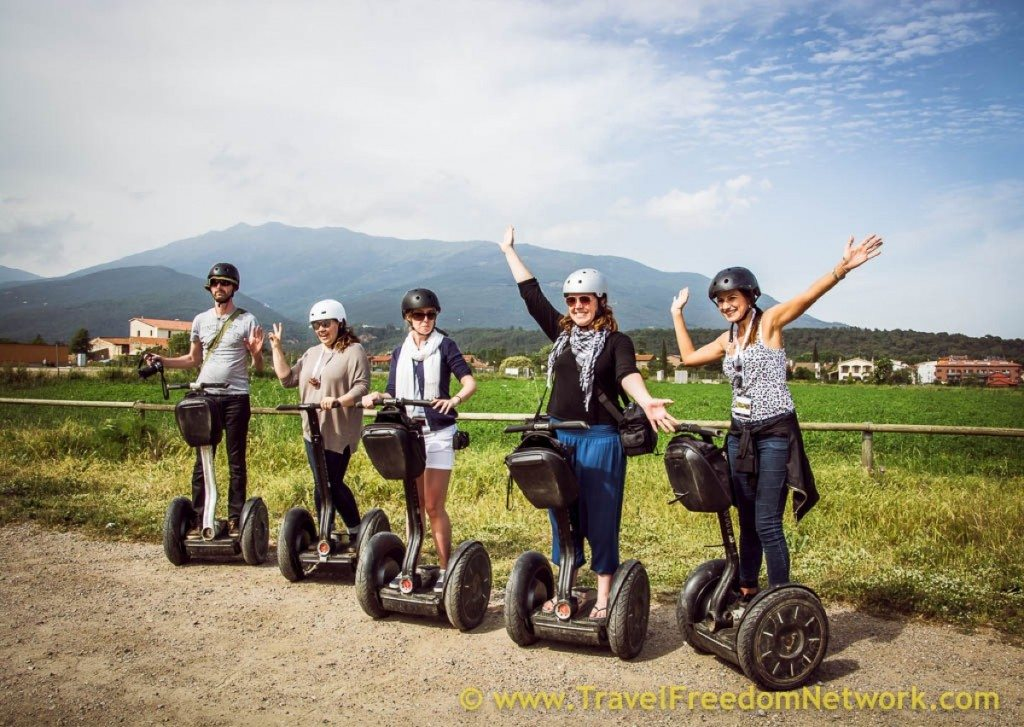 Food fun adventure Barcelona Province - Segway adventure outside Barcelona
