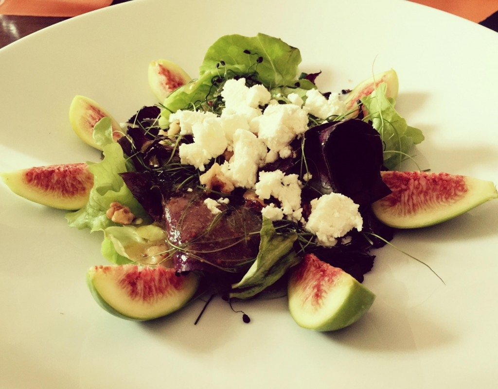 Food from around the world - Fig Salad