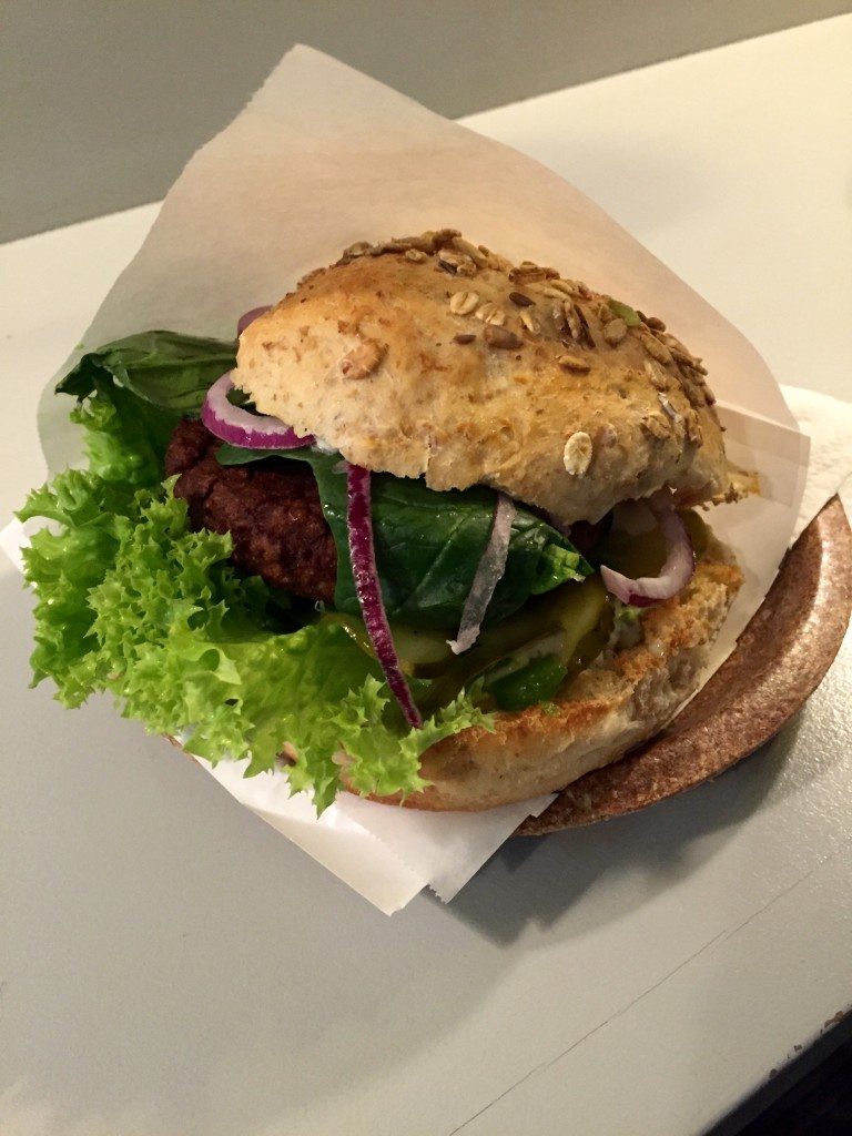Food from around the world - vegan burger warsaw