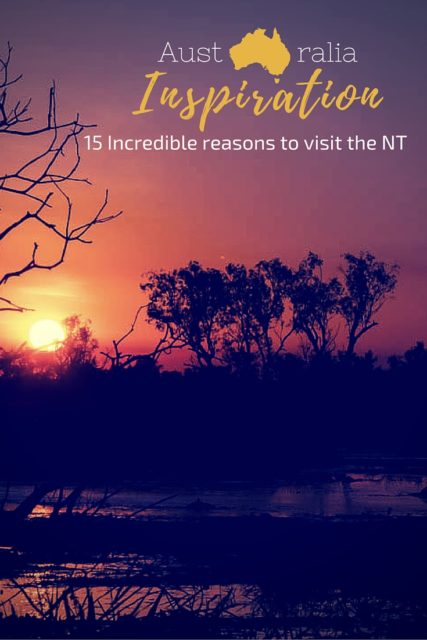 Northern Territories, Australia. Get a real Aussie Outback experience. From crocodiles to aboriginal rock art. Unique nature and culture in Australia.