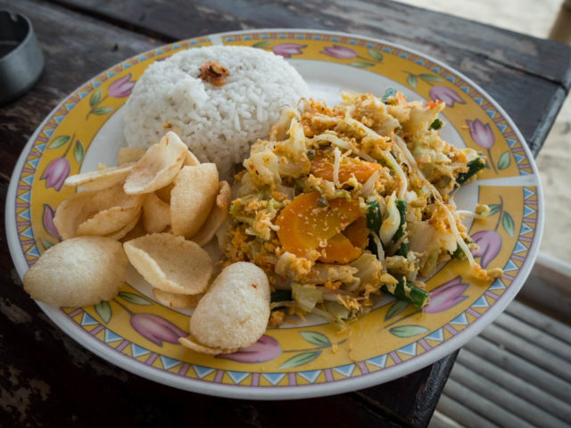 dining Gili Air - Urap Urap