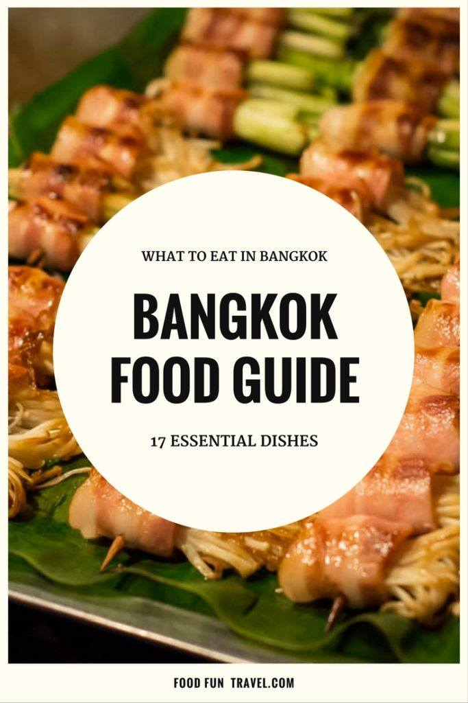What to Eat in Bangkok: Bangkok Food Guide. We reveal our 17 Essential Dishes in Bangkok and where to eat it. Prepare to drool...