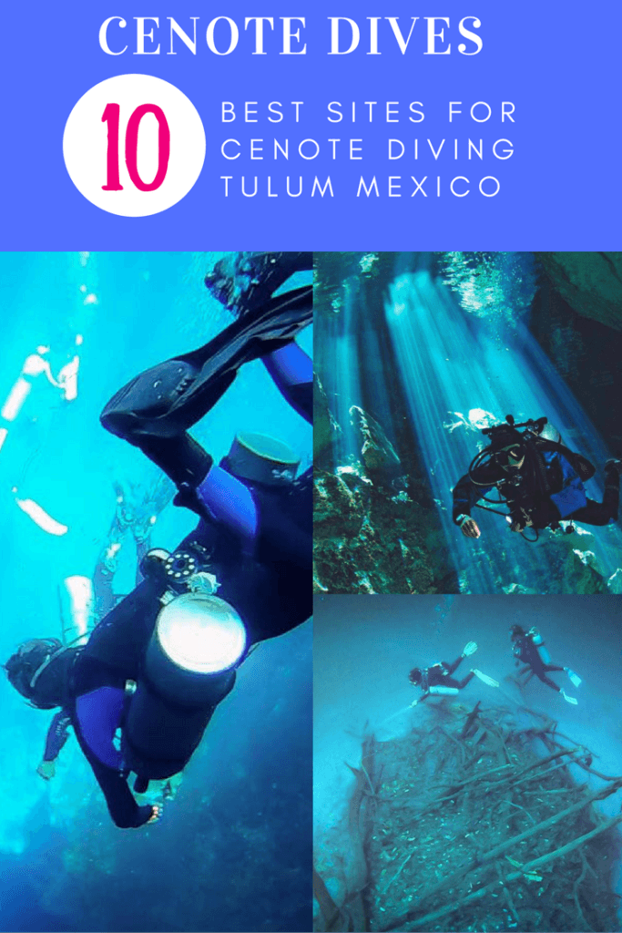 Cenote Diving Tulum: The best cenote dives in the world are in Yucatan, Mexico! Come discover cenote cavern diving on your next scuba diving vacation.