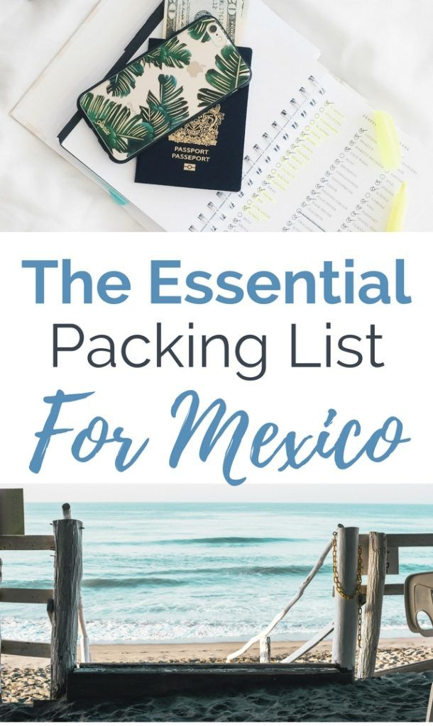 Packing List For Mexico. What are the main mistakes people make when deciding what to pack for Mexico? After traveling in Mexico for over a year we have seen it all. This article will help you get it right 1st time around so you can enjoy your vacation and not spend time seeking out these common essentials.
