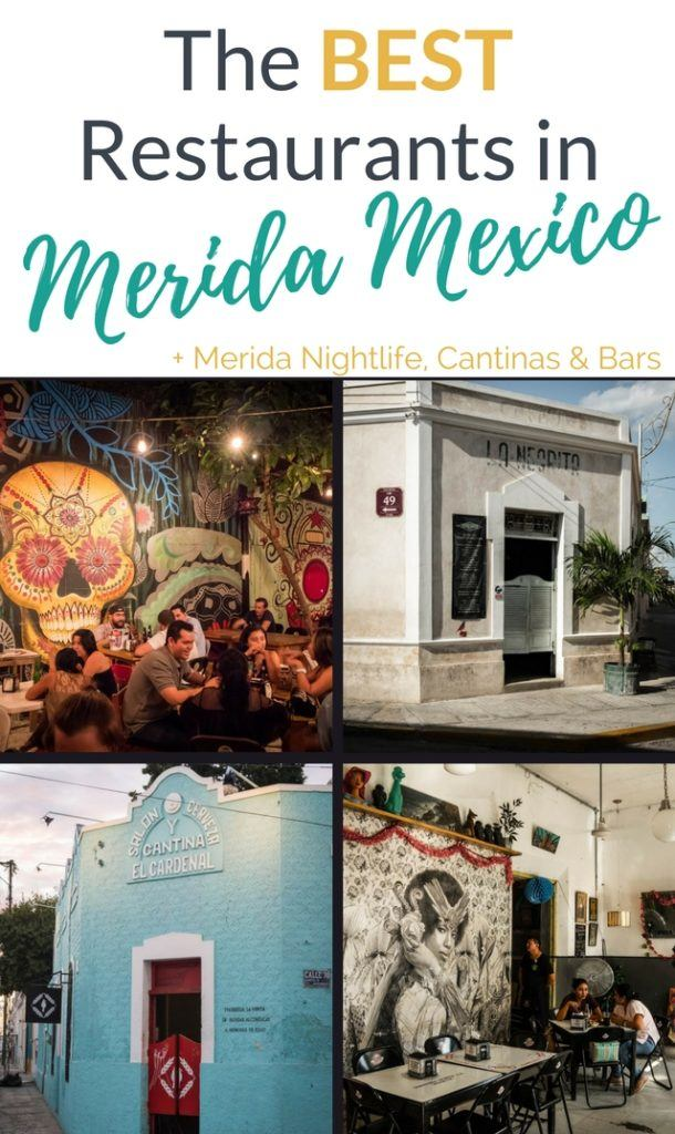 Discover the Best Restaurants in Merida Mexico with our ultimate Merida Food & Drink Guide. From breakfast to night clubs. We cover more than X places to indulge your tastebuds in Merida Yucatan. Includes our free Food & Cantina walking tour map. The best Merida nightlife & cuisine.
