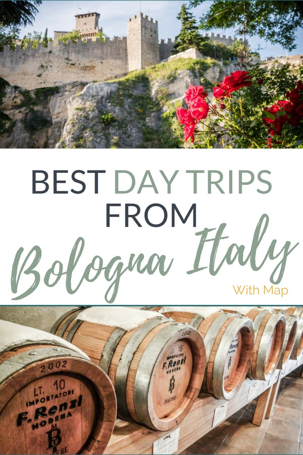 Emilia Romagna is a big region to explore, that's why we've put together some of the top day trips from Bologna to help you plan the perfect itinerary! #Blogville #inemiliaromagna #bologna #daytripsbologna #emiliaromagnamap