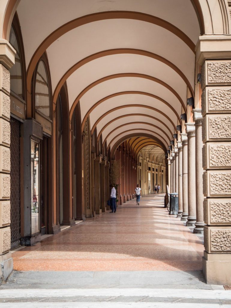 Top Things To Do In Bologna Italy: Porticoes of Bologna