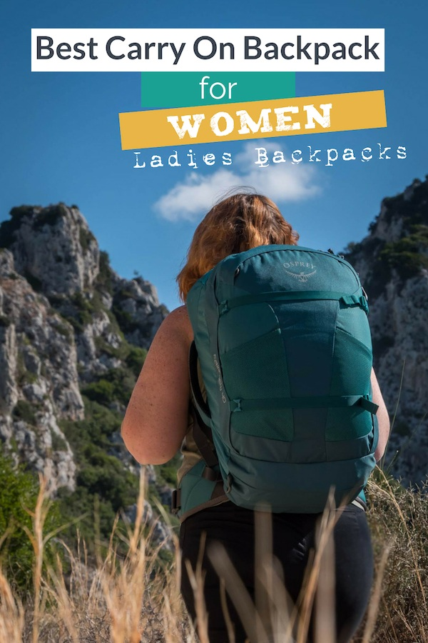 Female travelers if you have been seeking the perfect Travel Backpack For Carry On look no further. Osprey Ladies Travel Backpack Review