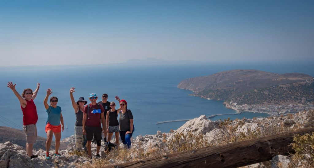 Greek Island Hopping Itinerary: Best Greek Island Hopping Routes: Hiking in Kalymnos