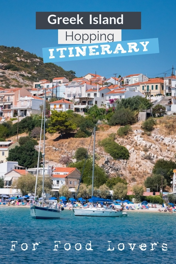 This Greek Island Hopping Itinerary (With Map) will take you to secluded bays and to scenic undiscovered islands of Greece. How to island hop in Greece