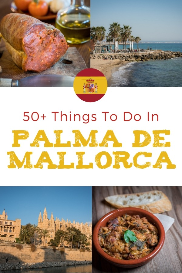 Our Palma de Mallorca Map & Guide features 50+ Things to do in Palma de Mallorca including Palma sightseeing, Palma shopping, Food, Palma beaches and more!