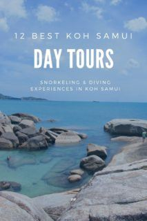 Discover the best Koh Samui tours with our comprehensive snorkel & dive article. 12 incredible Koh Samui snorkeling & Koh Samui diving experiences.