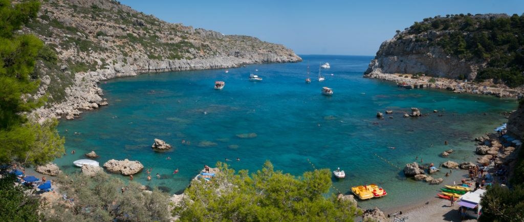 Places To Visit In Rhodes: Anthony Quinn Bay