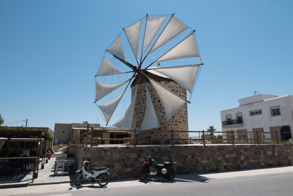 Kos Attractions: Traditional Windmill Of Antimachia