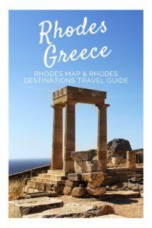 Rhodes Destinations travel guide & Rhodes Map for tourists, 80+ attractions/activities. Decide where on Rhodes to stay and the best places to visit in Rhodes