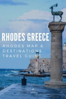 Rhodes Destinations travel guide & Rhodes Map for tourists, 80+ attractions/activities. Decide where on Rhodes to stay & the best places to visit in Rhodes