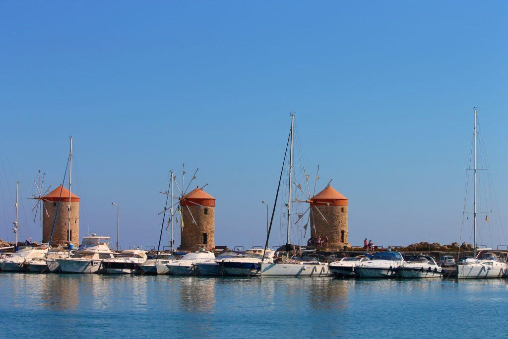Rhodes Old Town Map | Things To Do In Rhodes Town: Explore Mandraki Harbour